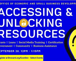 Accessing and Unlocking Resources in Broward County. Florida
