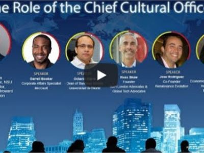 "Alan B. Levan | NSU Broward Center of Innovation presents ""The Role of the Chief Cultural Officer"""