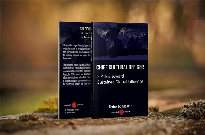 Chief Cultural Officer. 8 Pillars toward Sustained Global Influence