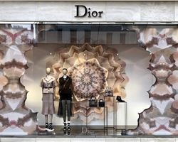 DIOR has launched KaleiDiorscope windows around the world.