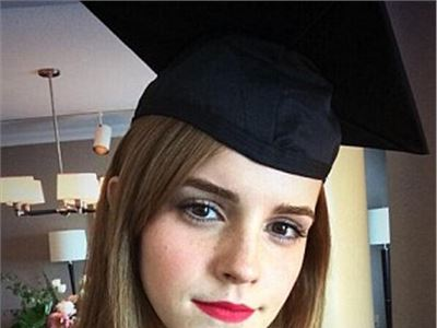 Emma Watson to graduate from America's Brown University (not Hogwarts) after earning degree in literature.