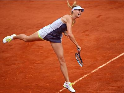 French Open semi-finals: Sharapova against Azarenka