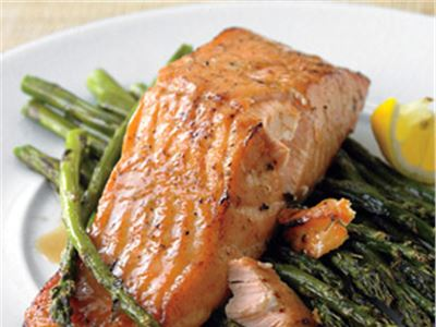 honey-mustard salmon recipe