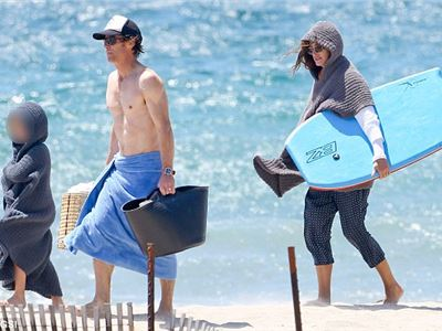 Julia Roberts likes holidays in Malibu with her Family