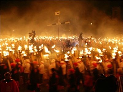Lerwick Up Helly Aa - Viking Fire Festival