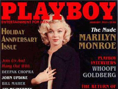 Marilyn Monroe was Playboy's first playmate in 1953