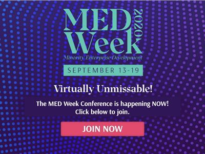 MEDWeek, Minority Enterprise Development Week Virtual Conference