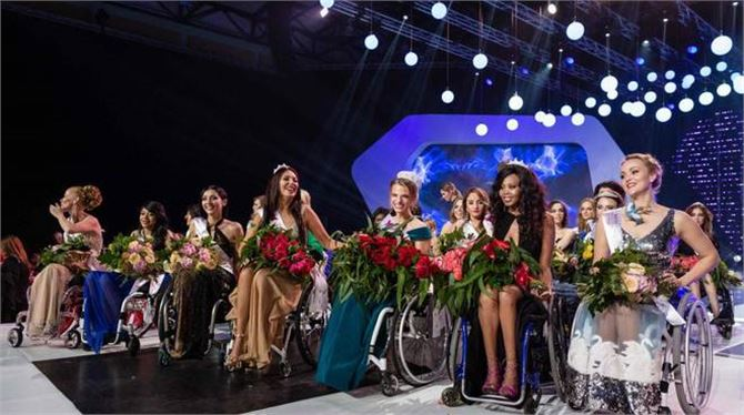 Miss World: Beautiful and on a wheelchair!