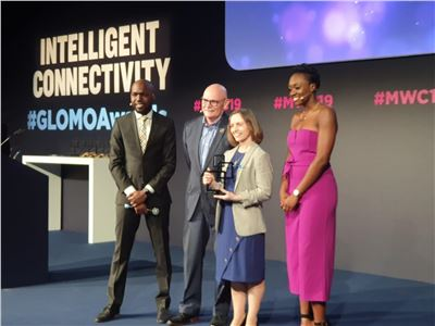 "MWC Barcelona. Ericsson wins a GLOMO Award for ""Best Mobile Network Infrastructure"""