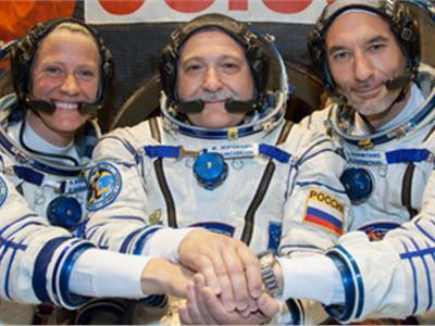 New Expedition 36 Trio Prepares for Launch