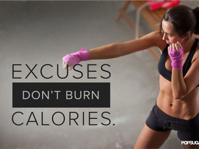 NO EXCUSES !