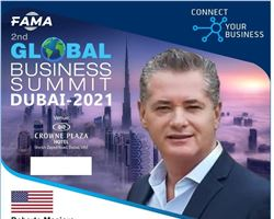 Roberto Masiero, Chairman of Renaissance Evolution, will attend as speaker at the Global Business Summit 2021 - Dubai.