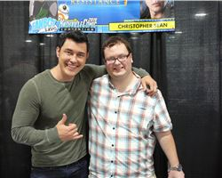 Samuel meets with Celebs at Knoxville Comic Con