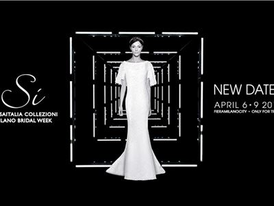 Sì Sposaitalia Collezioni brings forward the dates and launches the White Carpet Fashion Show