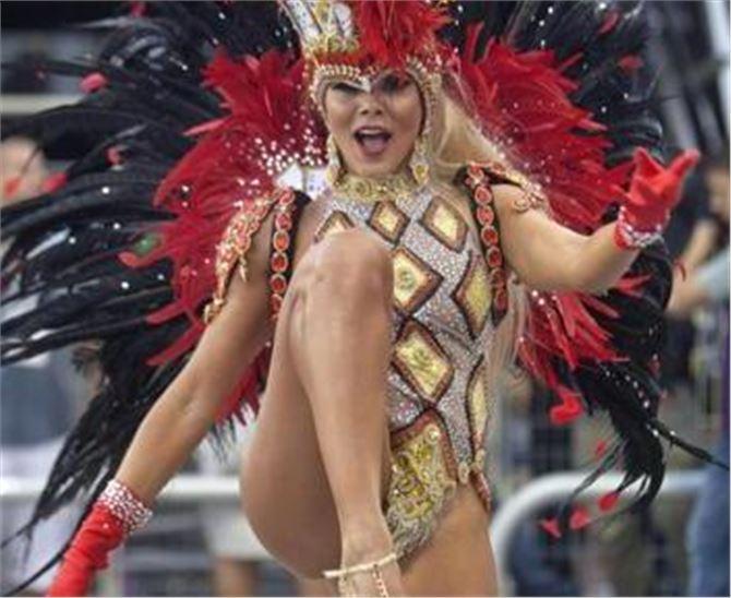 Rio De Janeiro Carnival Women
