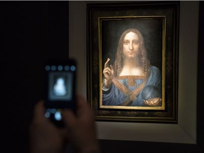 The Louvre Abu Dhabi is getting the $450 million Da Vinci painting