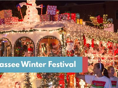 The Tallahassee Winter Festival kicked off 2017's holiday season on Dec. 2