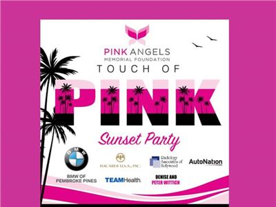 The Touch of Pink Sunset Party October 3, 2019