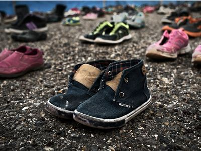 The Traveling Soles project