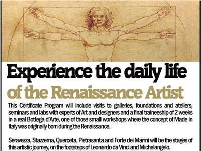 This Summer travel backwards in Renaissance thanks to BAU University.