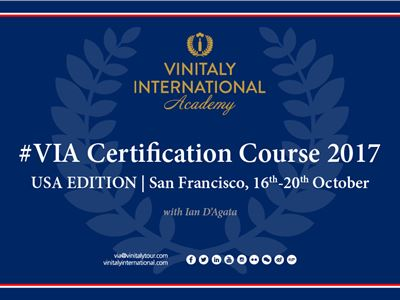 Vinitaly International Academy Certification Course in San Francisco!